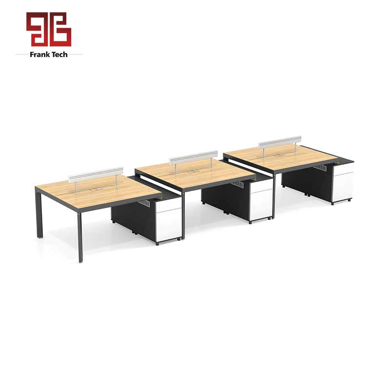 Modular Office Furniture Bench 6 Person Computer Chair Workstation