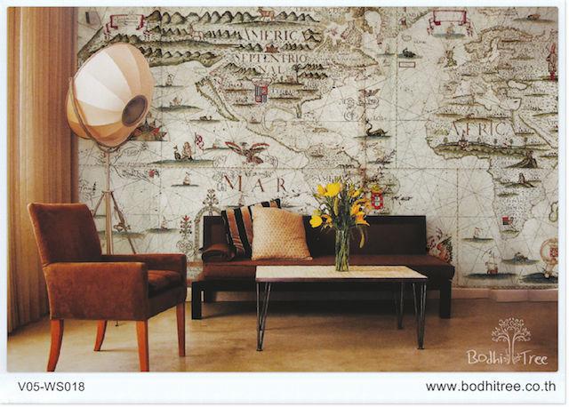 Thailand world map consiga su thailand world map favorito de las home decor world map wallpaper gumiabroncs Gallery