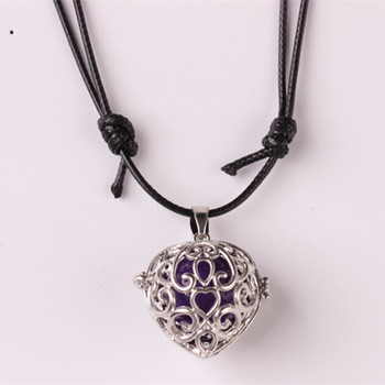 New design sound beads pregnancy ball pendant cross cage locket new design sound beads pregnancy ball pendant cross cage locket necklace womens openable flower hollow chime aloadofball Choice Image