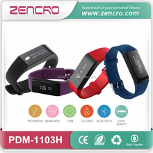 Zencro Hit Fitness Calorie Counter Pedometer Heart Rate Monitor Wristband