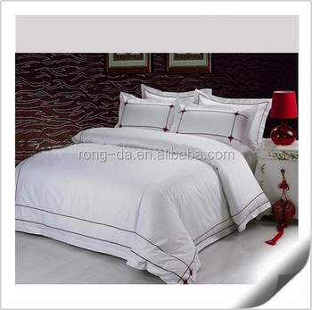High Quality Cotton Bed Sheets 100% Polyester Bed Set