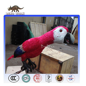 Dino0657 Amusement park attractive high quality simulation parrot