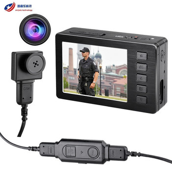 Android And Ios Remote View Police Body Worn Wearable Police Camera With  1080p Full Hd 2 7 Inch Screen With Remote Control - Buy 2 7 Inch Lcd