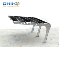 Hot Sale Solar Carport/Car Parking Mounting Brackets Structure