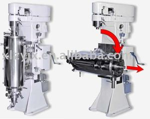 Wine clarification centrifuge separator