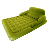 Convertible Lounge Air Mattress and Lounge Queen Inflatable Bed Sofa