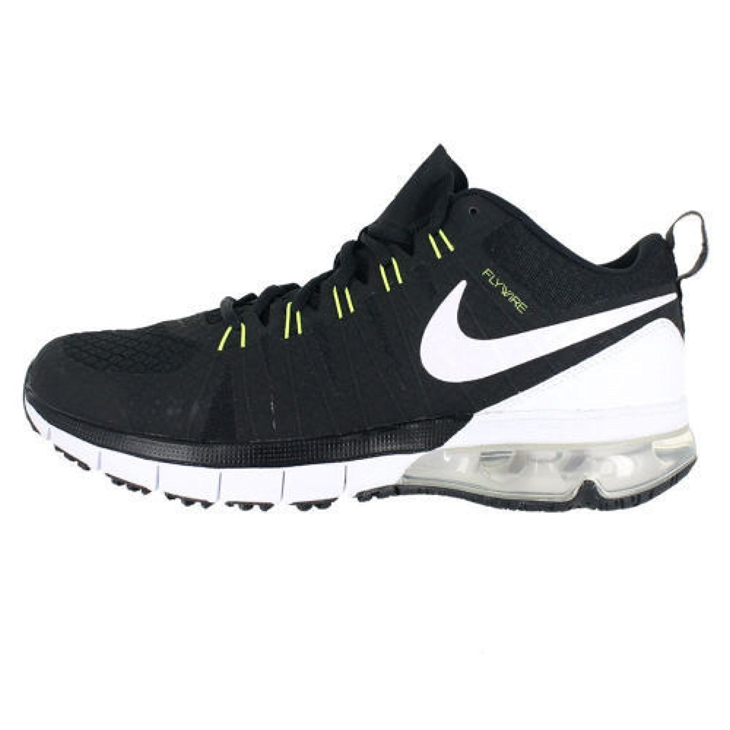a46c4a6122d7 Get Quotations · Nike 723972-017 Air Max TR180 Training Shoes Black White  Size Mens 7.5