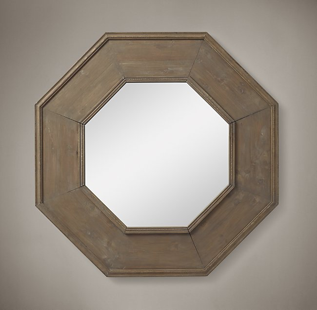 Antique Vintage Reclaimed Octagon