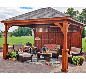 Direct Factory wood used gazebo for sale