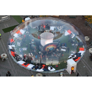 outdoor clear party tent inflatable bubble dome for events