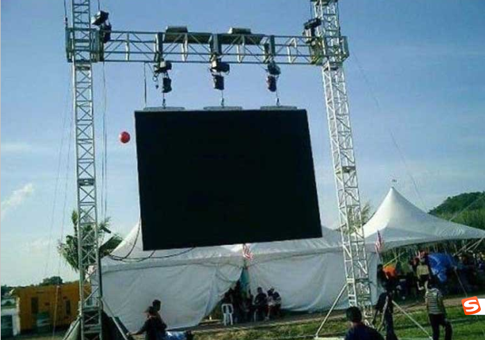 High brightness outdoor concert stage led screen panels 4.81 outdoors signic electronics big with low price