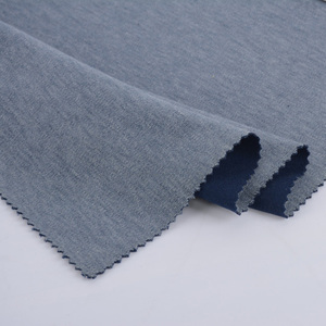 Quick dry polyester cotton knit sports fabric t/c 65/35 pique fabric for sweat suit fabric
