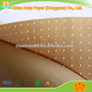 60g hole kraft paper in fabric factory