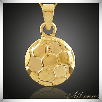 Europe style round simple gold pendant design fashion football gold europe style round simple gold pendant design fashion football gold pendant aloadofball Image collections