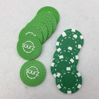 Custom Casino Clay Plastic Acrylic Poker Chip
