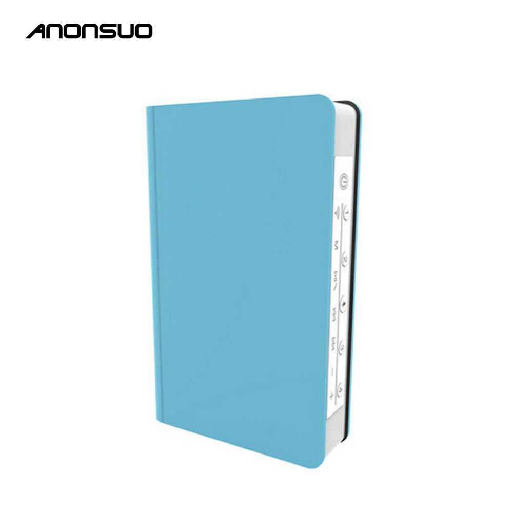 Anonsuo Portable Oem Music Wireless Bluetooth Speaker DS-1199 Mini Wifi App Control Voice Assistant System Speaker Book Shape