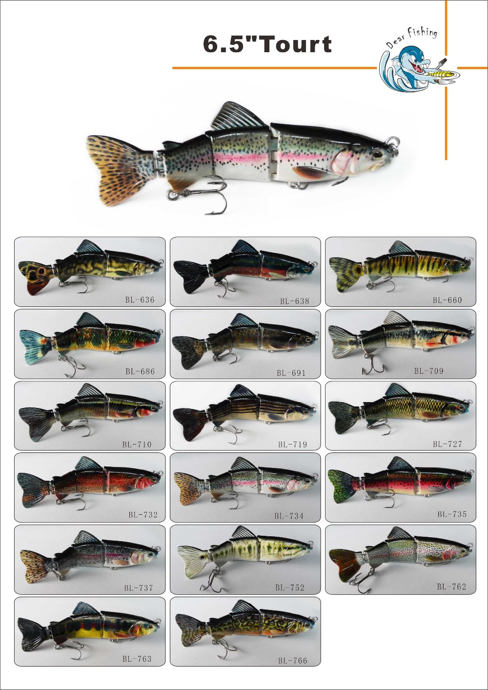 Plastic lure making supplies for Fishing equipment stores