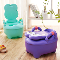 High quality plastic kid child size baby training toilet for children