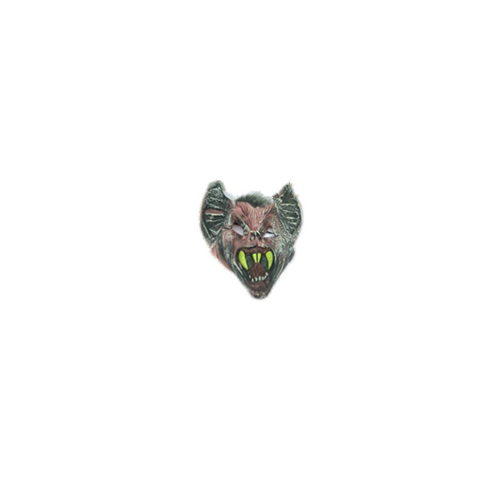 Syrinx High-Quality Halloween Mask Terror Goblin Mask - Full Mask Latex(green tooth)