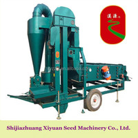 Oil seed cleaning machine