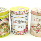 Tin Round Can Cookie Round Tea/Coffee/Cookie/Biscuit Tin Can