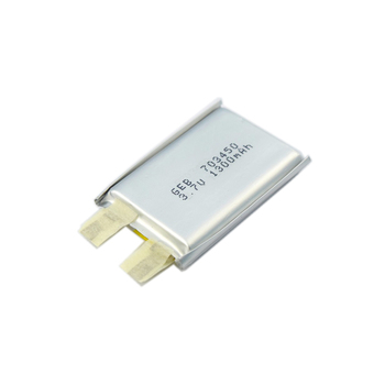 rechargeable lithium ion polymer battery 703450 3.7V 1300mAh