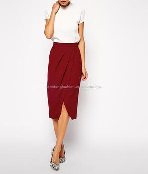 Drape Tulip Pictures Of Short Formal Skirts Designs - Buy Formal ...