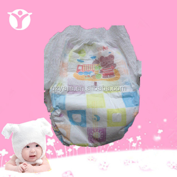New high absorption and soft cute Disposable baby diapers pant
