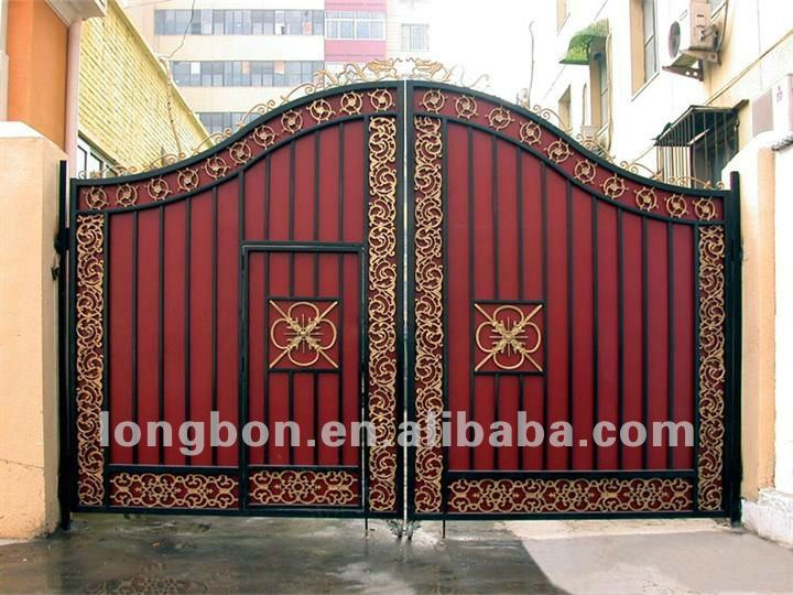 2017 Top Selling Newest House Iron Gate Design Buy House Iron Gate