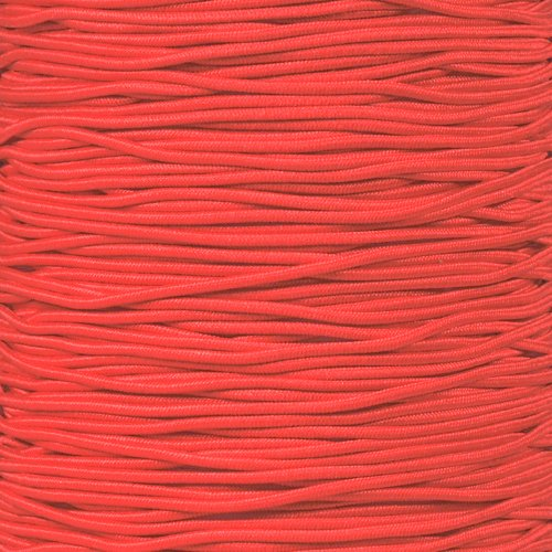 Craft County Choice Quality Elastic Nylon Bungee Stretch Shock Cord in 1/16 inch and 1/32 inch Diamater – Beading, Party Favors, Friendship Bracelets, DIY Craft Projects