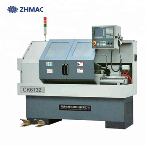 Mini metal cnc lathe machine takisawa cnc lathes CK6132 for Sale