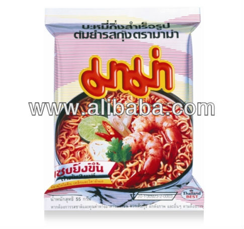 "MAMA Instant Noodles Thailand / Best Selling Product/Instant Noodle Shrimp ""Tom Yum Kung"" good taste high quality various flavor"