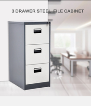Sliding Door Acrylic stainless Steel And Vault 3 Drawer metal Filing Cabinet