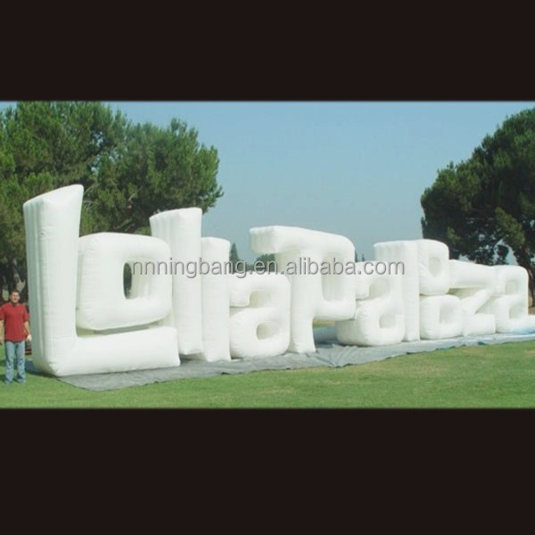 nb le302 customized giant inflatable letter for event decoration buy inflatable lettergiant inflatable lettersmetal letters for decoration product on