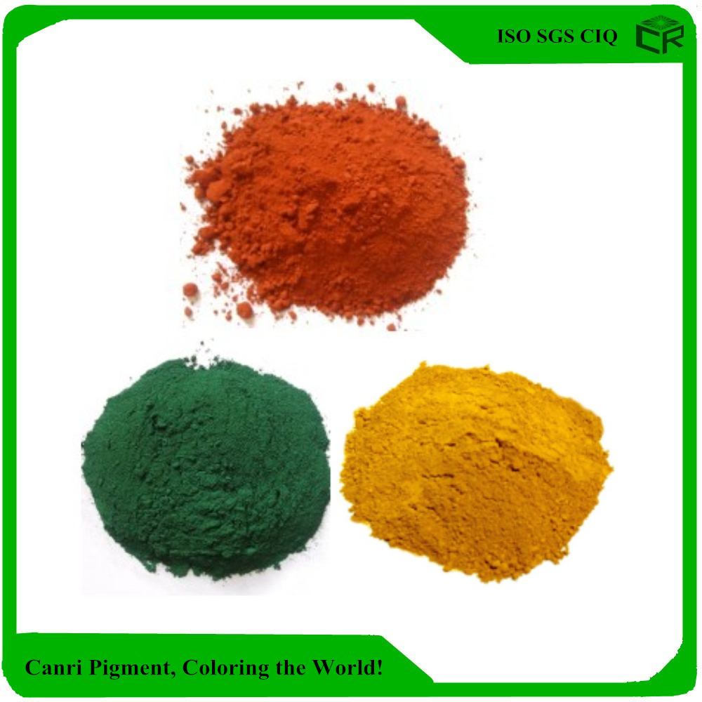 factory price iron oxide pigment colours iron oxide pigment msds