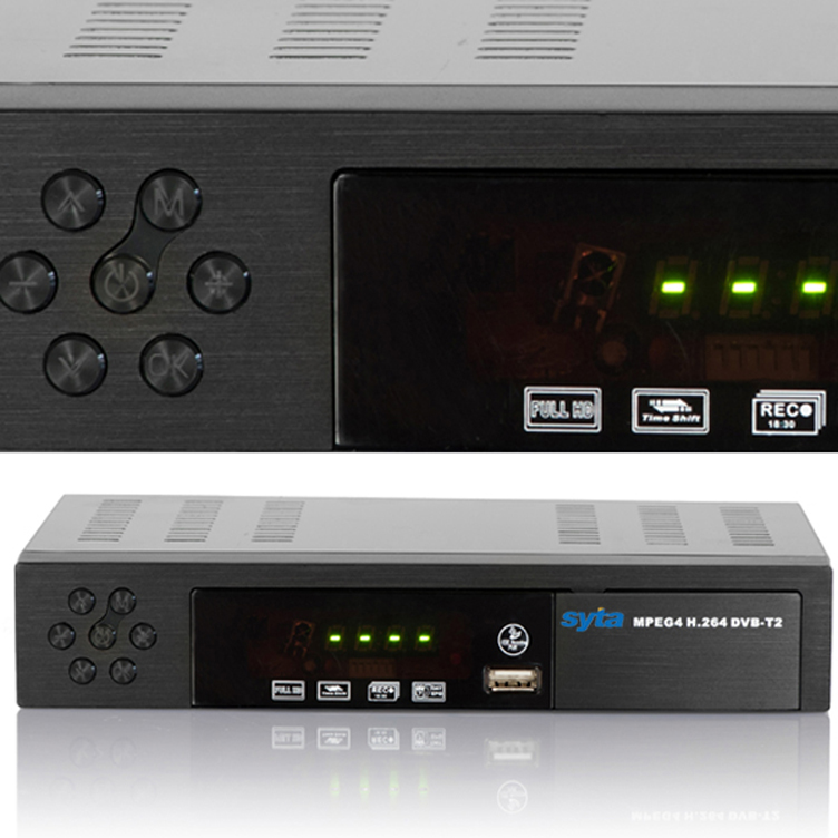 SYTA HD DVB-T2 <strong>Set</strong> <strong>top</strong> box terrestrial digital television <strong>TV</strong> receiver DVB T2 <strong>tuner</strong> with DVB-T MPEG-2 4 stb