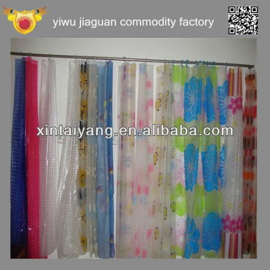 Cinese di plastica trasparente tenda da doccia in pvc - Tenda doccia trasparente ...