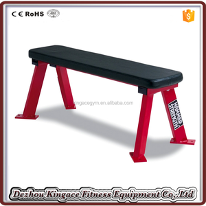 Gym Equipment/Hammer Strength Weightlifting Flat Bench