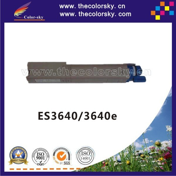 (CS-OC3640) compatible toner cartridge for OKI ES3640 3640e 3640 42918925 - 42918928 kcmy (15k/15k pages)