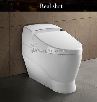 Gizo LZ-0702z modern bathroom automatic flush toilet