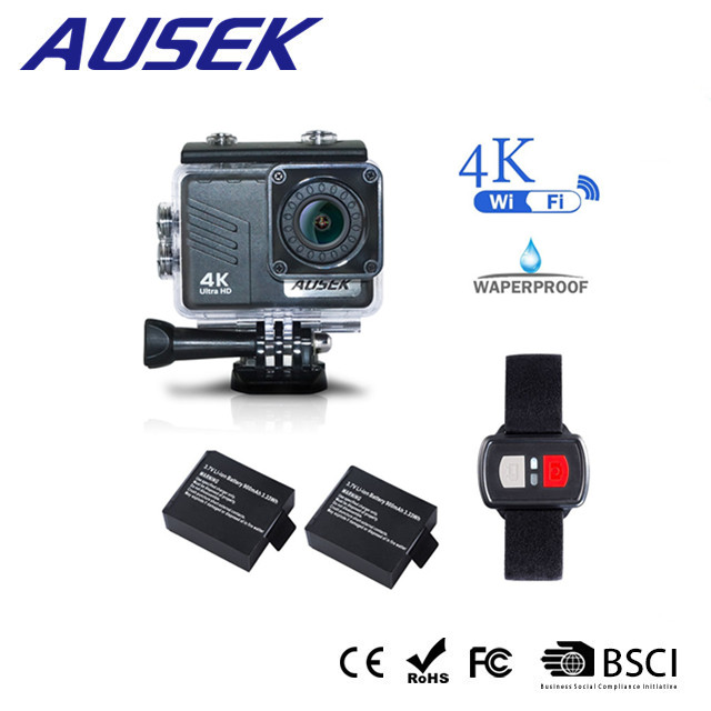 2018 new arrivals bicycle waterproof XDV 4k full HD 1080p 60fps action <strong>camera</strong> 4K with 2.4G wifi remote control