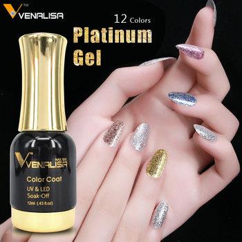 60752w Canni Sub Brand Venalisa 12ml Nail Gel Polish Platinum Gel