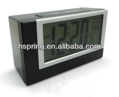 Mini lcd projection digital table clock