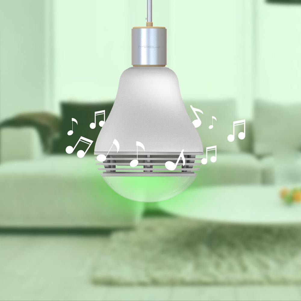 Bluetooth Smart Led Speaker Bulb Intelligent Rgb Light