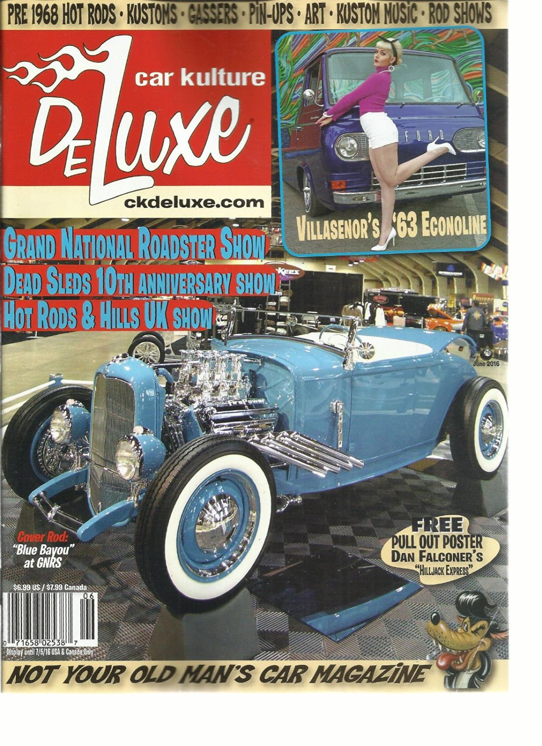 Buy CAR KULTURE DELUXE, ISSUE, 2016 NOT YOUR OLD MANS CAR MAGAZINE ...