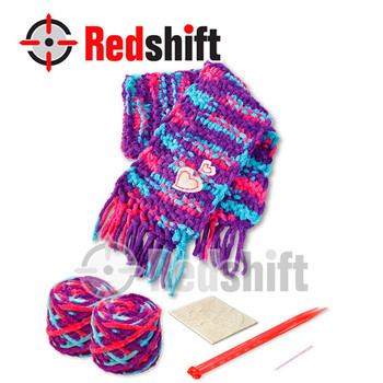 Make it yourself Knitting Scarf en71 diy toy art and craft