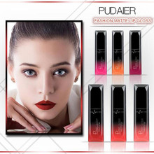 Pudaier Lip FASHION MATTE LIP GLOSS 21 Color Sexy Matte Velvet Long Lasting Liquid Lipstick