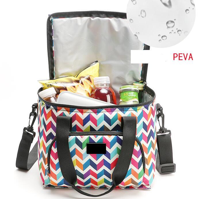 a183e8b6f774 Новый термо-сумка для ланча сумка коробка для женщин мужчин термос  охладитель горячей холодной еды