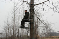 Made in China light powerful hang on tree stand with coating