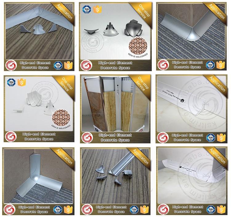 Poedercoating Aluminium Badkamer Tegel Hoek Strip - Buy Badkamer ...